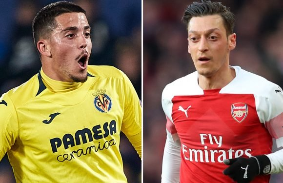Arsenal and rivals Spurs in transfer battle for Villarreal midfielder Fornals and Ozil could be key to deal
