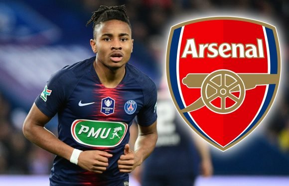 Arsenal scouts watched attacking midfielder Nkunku star in 4-0 PSG win ahead of summer transfer swoop