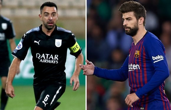Pique and Xavi come out of international retirement for Catalonia game against Venezuela