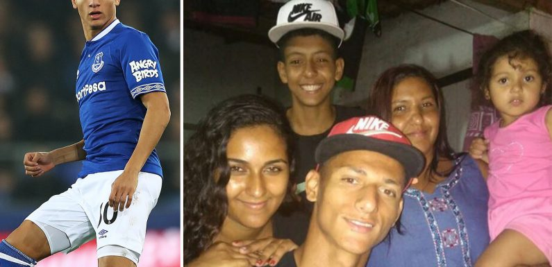 Everton star Richarlison admits he sold ice creams and almost quit football to support his family