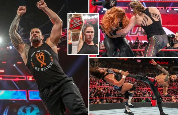 The Shield reunite after Reigns return in huge WWE shock on Monday Night RAW