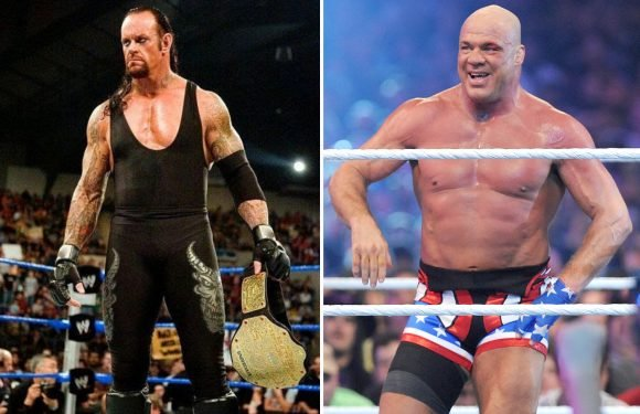 WWE wanted Undertaker to be Kurt Angle's last-ever opponent at WrestleMania