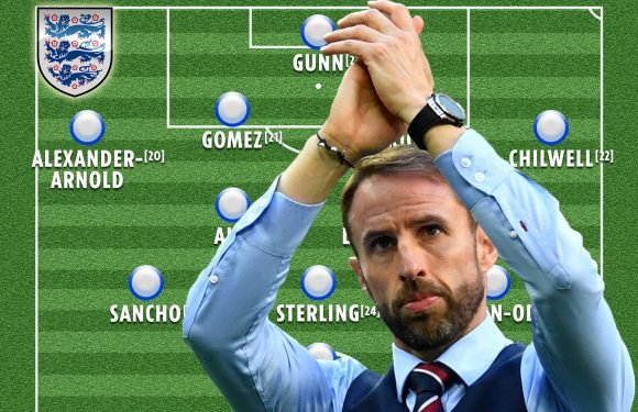 How England could line up with an average age of just 21 and it might be the most exciting XI yet