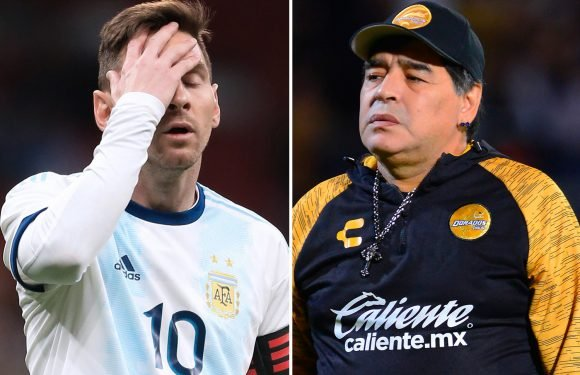 Maradona blasts 'I don't watch horror movies' when asked if he watched Argentina's loss to Venezuela