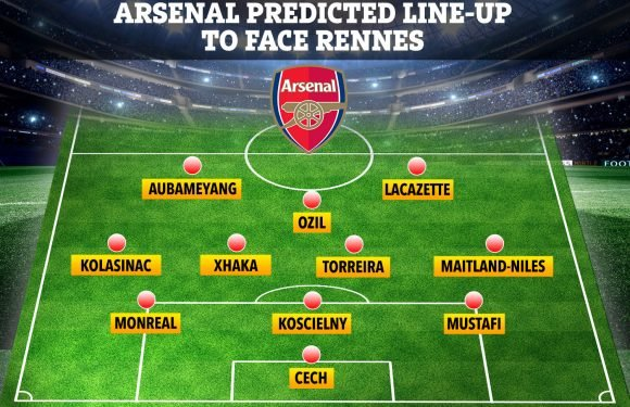 Arsenal predicted line-up with Emery facing number ten dilemma, Mkhitaryan doubtful but Lacazette back in frame for Rennes clash