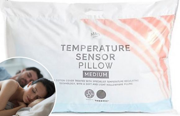 M&S is selling a pillow that keeps you cool when it's warm and snug when it's cold – and it's a must for couples who can't agree on the bed temperature