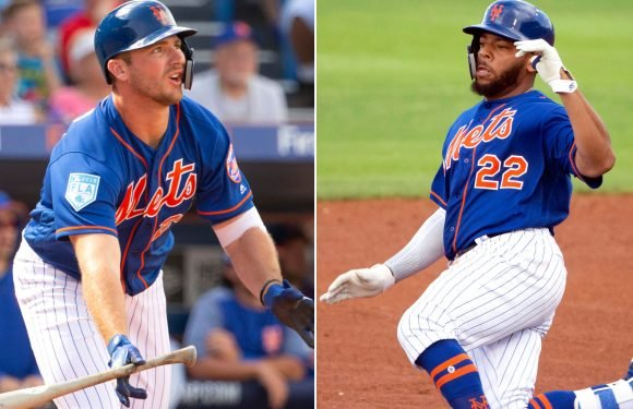 Mets have a competitive and friendly 1st-base battle going on