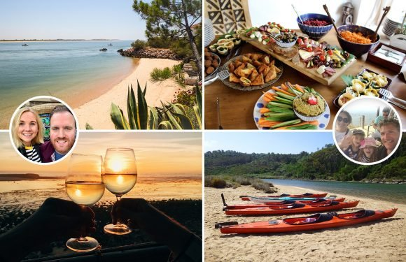 Sun-drenched southern tip of Portugal is perfect for a romantic mini-break or a family adventure