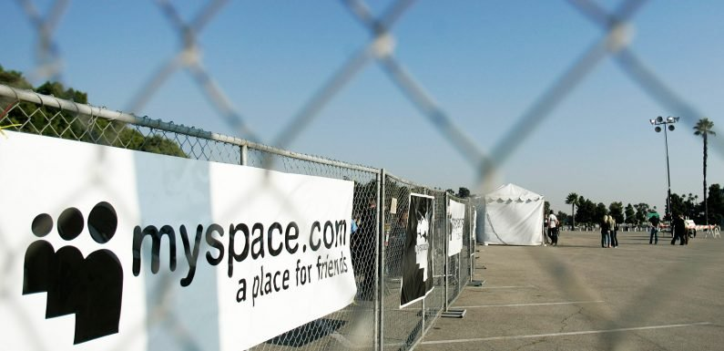 The Internet Is Not Your Friend: MySpace and the Loss of Memories