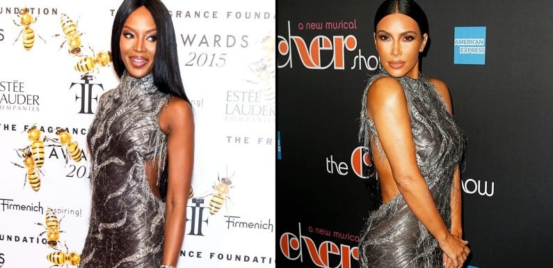 Is Kim Kardashian Trying to Copy Naomi Campbell's Style?
