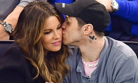 Kate Beckinsale, 45, & Pete Davidson, 25, Caught Kissing At 'The Dirt' Premiere — New PDA Pic