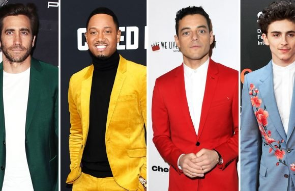 Men Are Making a Statement on the Red Carpet in Colorful Suits