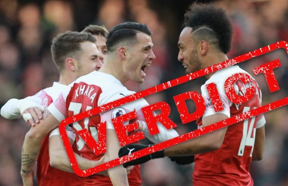 Emery's bold Arsenal prove they have stomach for top four battle Tottenham are lacking