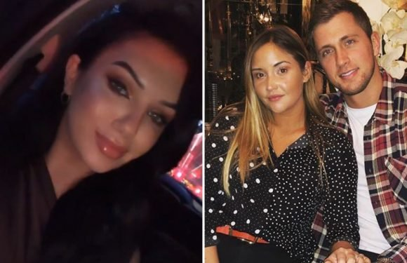 Alexandra Cane puts a smiling face on Dan Osborne drama after their kiss caused Jacqueline Jossa to throw him out