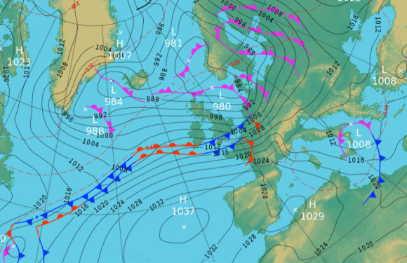Thursday's UK weather forecast: Wet and windy weather continues but clearing southwards by midday