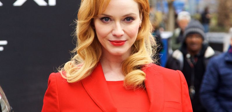 Christina Hendricks On Dyeing Her Blonde Hair Red There S