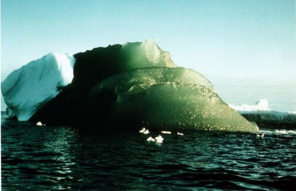 Why are some icebergs green in Antarctica? Researchers think they've solved century-old mystery