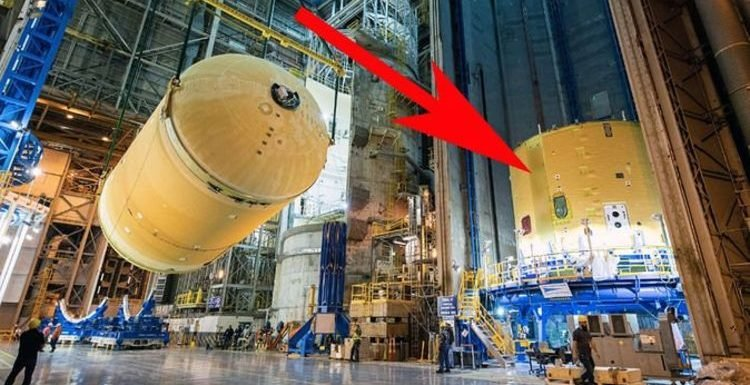 NASA conspiracy? Space agency accused of 'hiding something' in blurred-out SLS photos