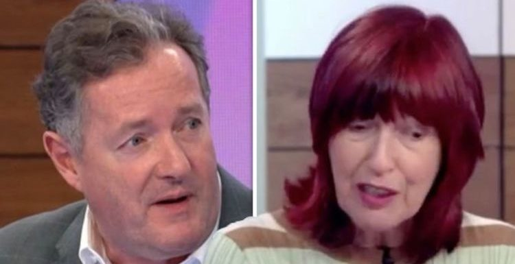 ITV Loose Women: 'This could get nasty' Piers Morgan CLASHES with Janet Street-Porter