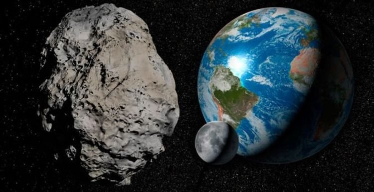 NASA asteroid tracker: Look out for 22,600MPH asteroid skim the Earth as close as MOON