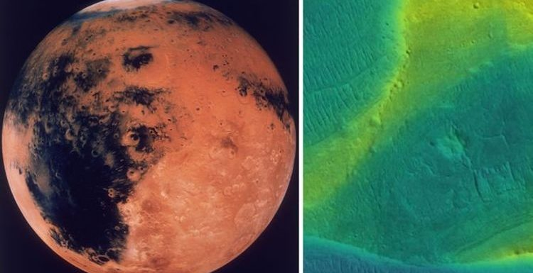 Water on Mars: 'RAGING rivers' discovered on Red Planet leave scientists STUMPED