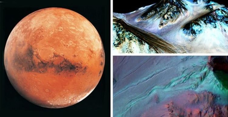 Water on Mars: BOMBSHELL discovery of 'active groundwater and streams' on Martian surface