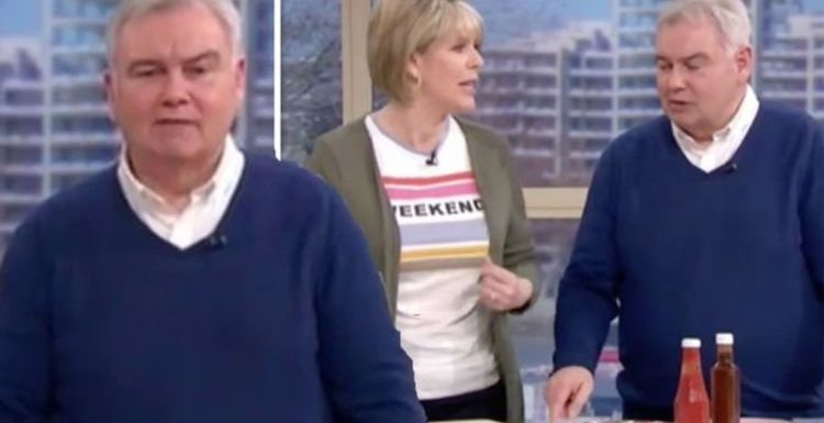 ITV This Morning: 'Not the point' Ruth Langsford and Eamonn Holmes clash in heated spat