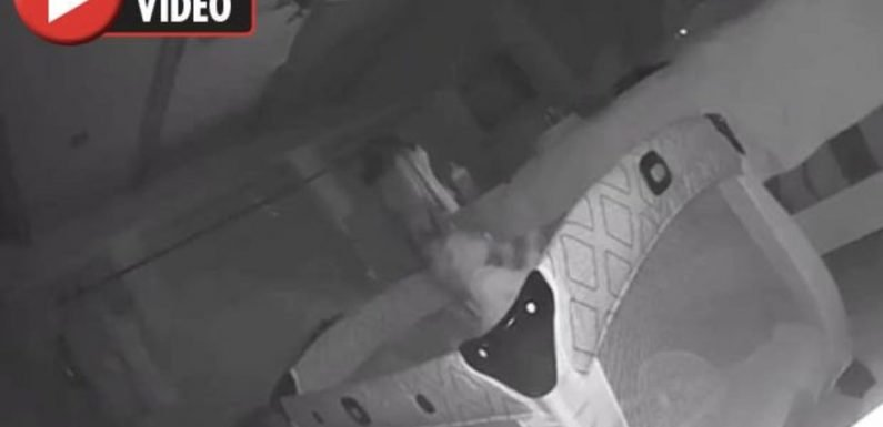 Couple DESPERATE to leave home after making terrifying discovery on baby camera