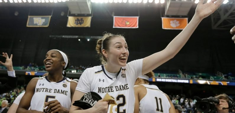 Women's NCAA basketball tournament 2019 bracket winners and losers
