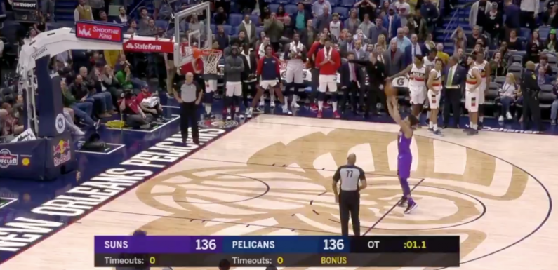 The Pelicans Gave The Suns A Masterclass On The Dumbest Possible Way To Lose A Basketball Game