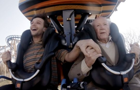 Louis Tomlinson Assists Widower to Tick Off His Bucket List in 'Two of Us' Music Video