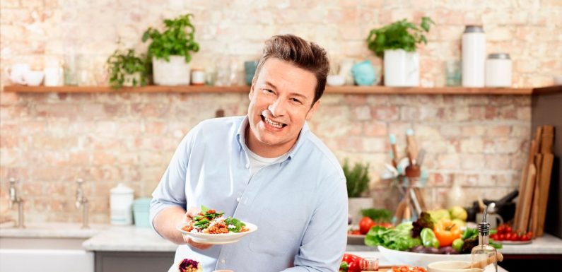 Jamie Oliver's dad used to wake him up with a glass of water over his head