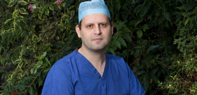 Comedian Adam Kay overwhelmed by audience reaction when fan collapses in theatre