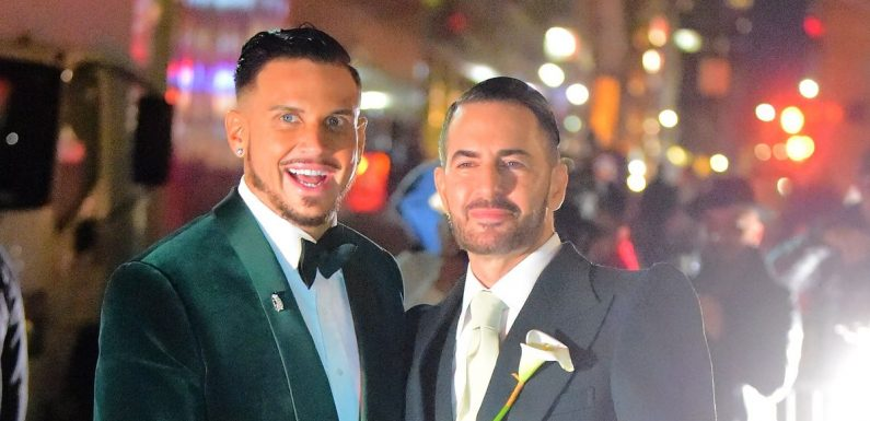 Marc Jacobs marries Char Defrancesco in glittering ceremony with A-list guests