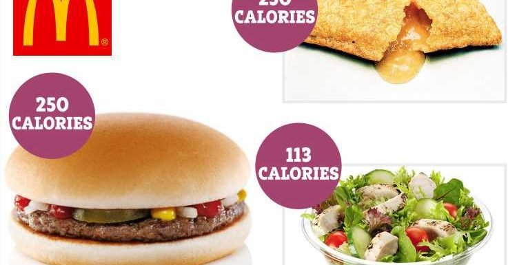 You CAN lose weight still eat McDonald's – the healthiest picks on the menu revealed