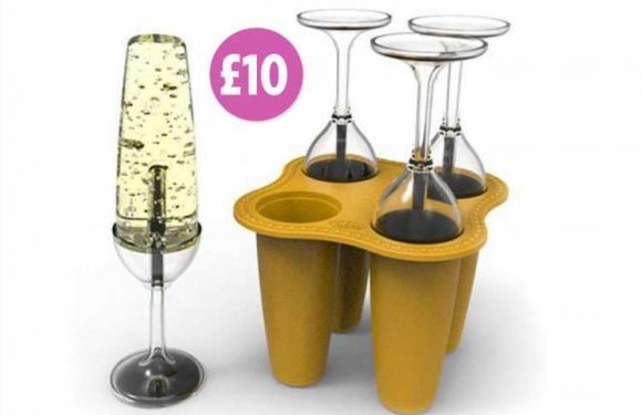 Hawkin's Bazaar is selling prosecco ice lolly moulds – and they only cost £10
