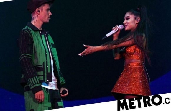 Justin Bieber and Ariana Grande lash out at journalist for mocking 'lip sync'