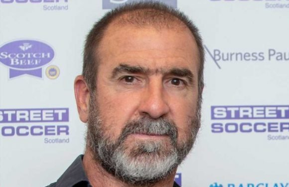 Eric Cantona shocks Instagram with video of man smashing an egg with his penis