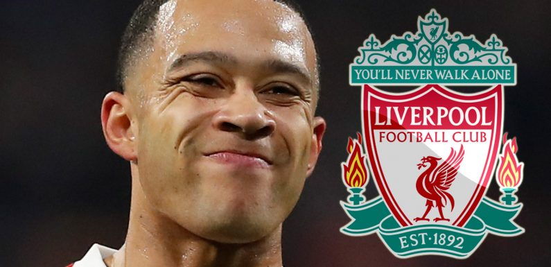 Liverpool 'will move for £50m ex-Man Utd star Memphis Depay if Mane transfers to Real Madrid'
