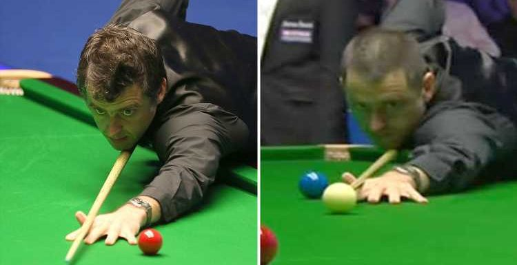 Ronnie O'Sullivan has extreme shaved haircut overnight after 'ragged' first round display at the Snooker World Championship