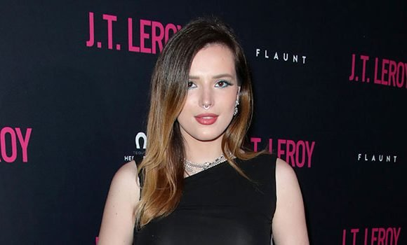 Bella Thorne Proudly Shows Off Hairy Unshaven Legs While Braless In Tight LBD — Pics