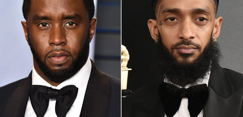 Sean 'Diddy' Combs Shares Moving Nipsey Hussle Tribute: 'We Gotta Make It Out of This with Love'