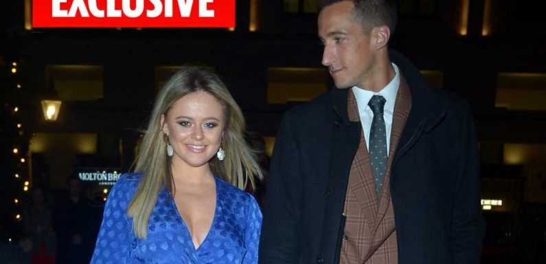 Emily Atack has found love with award-winning movie producer just four months after I'm A Celeb