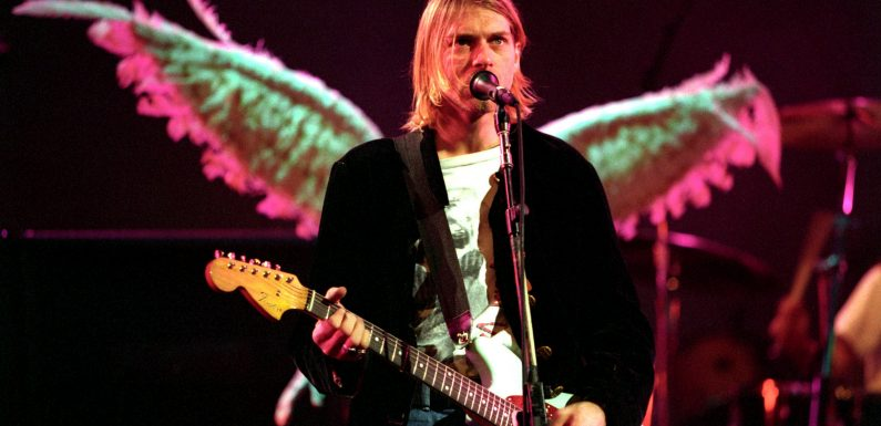 EW archives: Life at the top was far from Nirvana for Kurt Cobain