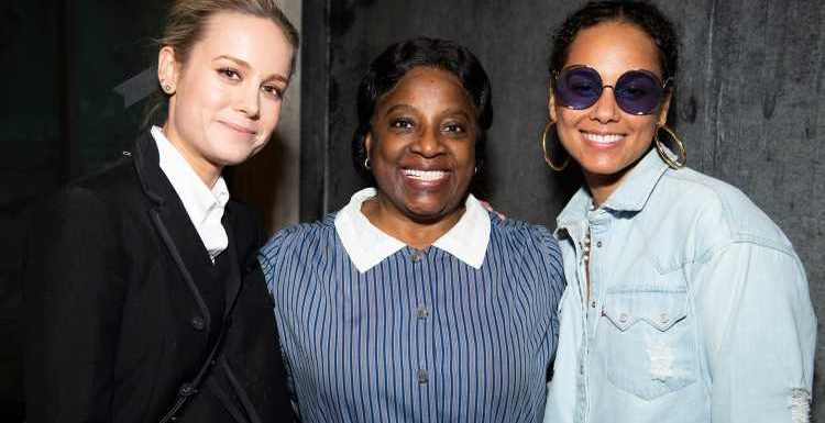 Alicia Keys & Brie Larson Check Out 'To Kill a Mockingbird' on Broadway!