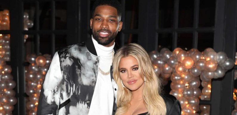 Tristan Thompson Posted for True's First Birthday, and Khloé Kardashian Immediately One-Upped Him
