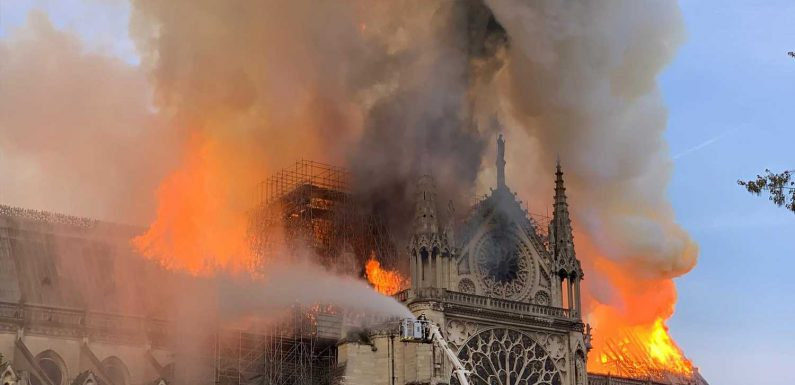 Notre Dame was '15 to 30 minutes' away from total destruction