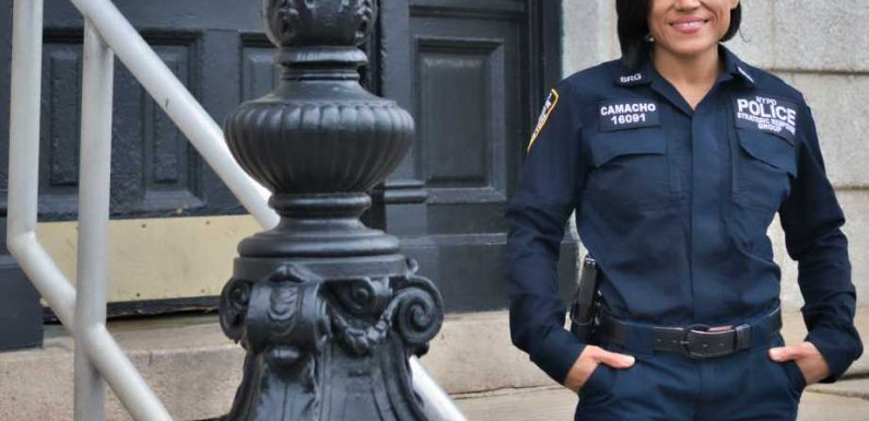 NYPD Officer Who Grew Up in Shelters, Foster Homes Now Training For Bodybuilding Competition