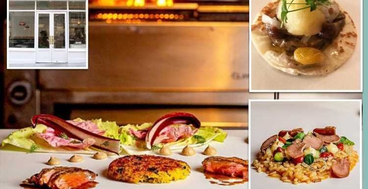 Hipster restaurant sells kebab 'tasting menu' for £60 and you have to eat it off the TABLE