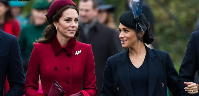 Meghan Markle 'was under no pressure' to copy Kate Middleton's royal birth plans: 'People are delighted'
